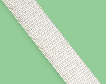 "White Nylon Webbing 0.75"" wide"