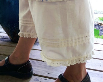 Muslin Bloomers | Women's Bloomers | Mori Bloomers | Pleats and Pockets | The Wild Raspberry