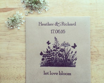 Wildflower Seed Favours Meadow