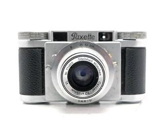 Braun Paxette PAX - 45mm f/2.5 - Comapct - Vintage 35mm Rangefinder Camera