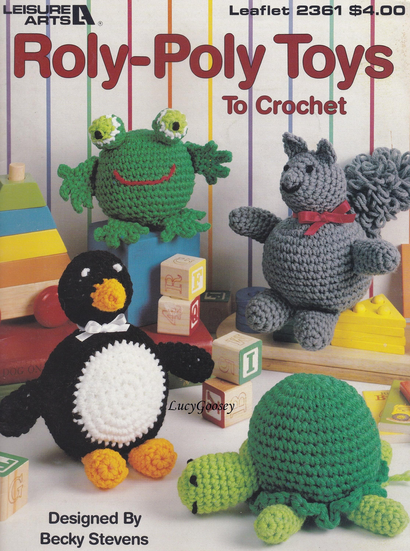 Pummel Spielzeug Freizeit Kunst häkeln Muster Booklet 2361