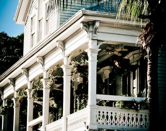 Fine Art Print, Wall Art, Island, Tropical,Photography, Key West, Parrot Head, Architecture