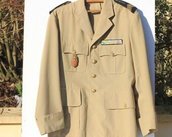 French Military Jacket, militaria, Army de Terre , Algeria,Algerie