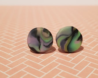 Aurora stud earrings