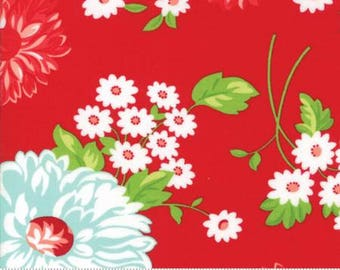 The GOOD LIFE by Bonnie and Camille for Moda Fabrics Scrumptious Floral Red