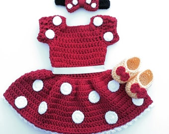 Minnie Mouse costume, Minnie Mouse outfit, disney inspired costume