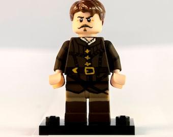 Captain Treville Custom Lego Minifigure