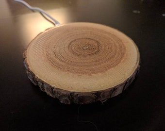 Real wood WIRELESS charger!