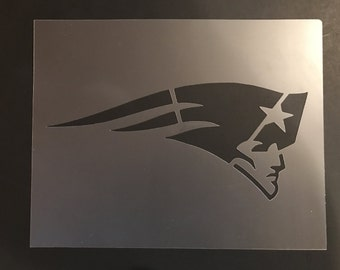 New England Patriots #1 Stencil 10mil Free Shipping!