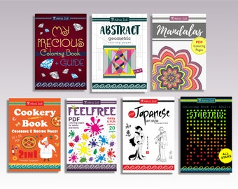 Printable Coloring Pages | Coloring Book Bundle