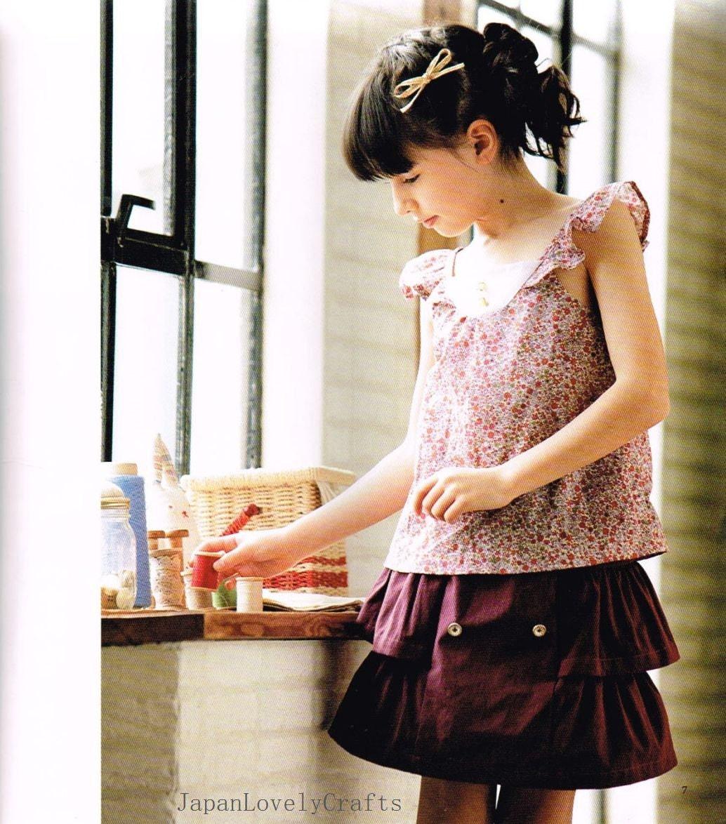Schöne Mädchen Kleid Schnittmuster einfache Nähanleitung