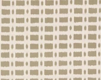 SCHUMACHER TOWNLINE ROAD Linen Fabric 10 Yards Brown