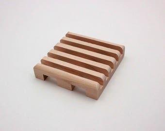 SOAP model ORIGINAL cut in the Earth, solid wood