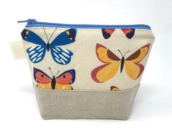 Reusable Snack Bag: Butterlies