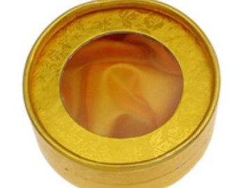4 Gold color Bracelet Cardboard Jewelry Box-HE1