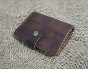 Brown leather wallet brown leather purse men's leather wallet womens leather wallet brown leather purse men's wallet mans purse womens purse