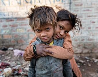 India Photography, Street Children, Child Photography, Indian Kids, Indian Print Art, Indian Children, Homeless Children, Travel Photography