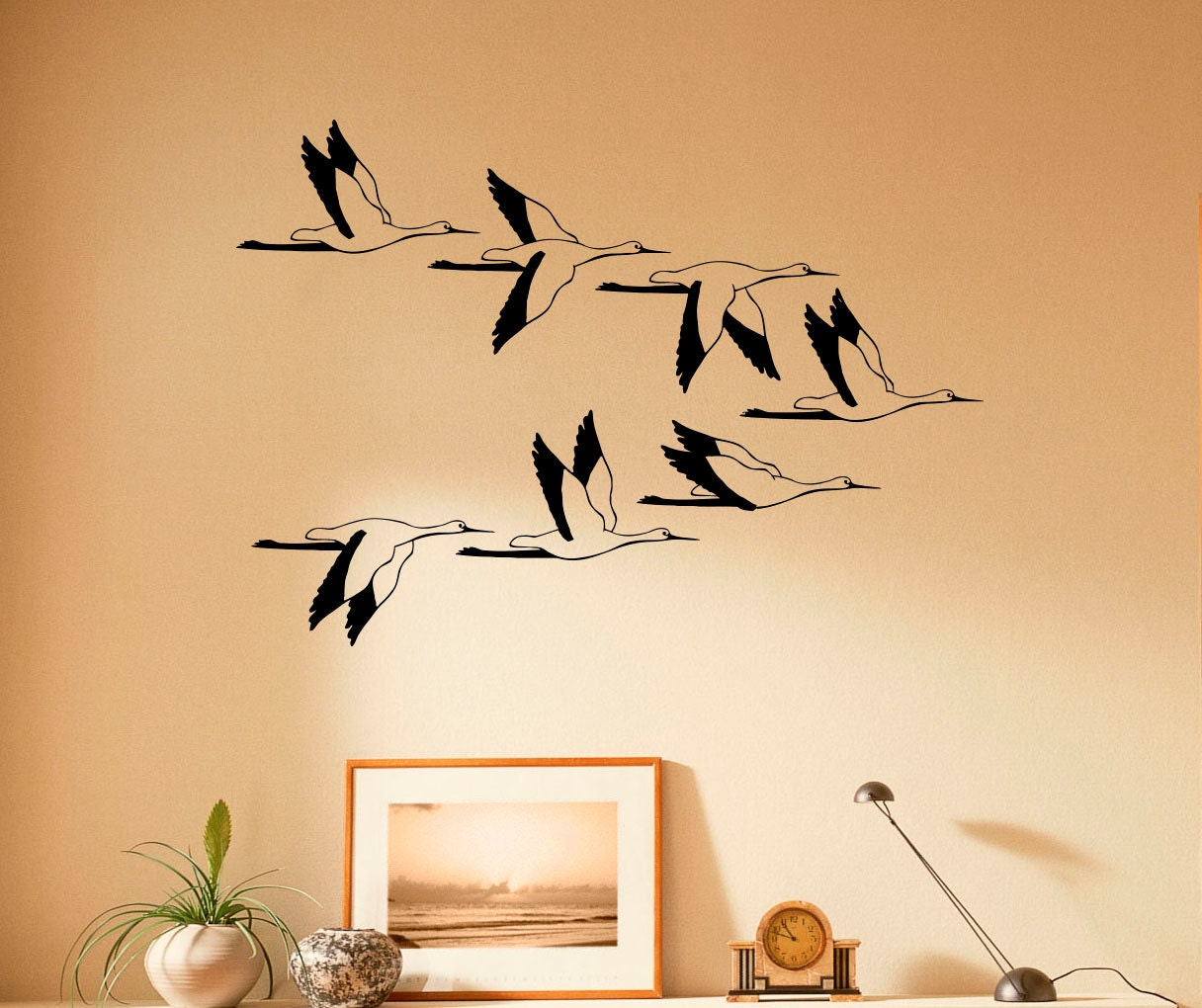 Perfect Birds In Flight Wall Decor Images - Gallery Wall Art ...