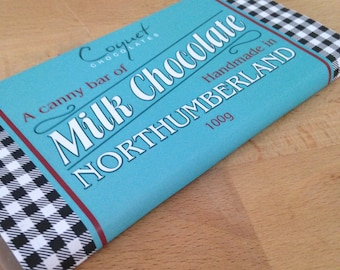 Northumberland Chocolate Bar Milk