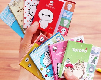 Totoro Sticky Notes, Totoro, Post it, to do, BayMax, Kawaii Notepad, cute memo pad, sticky notes set, Totoro notes, Stationery, planner
