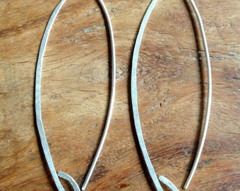 Modern Loop Dangle Earrings