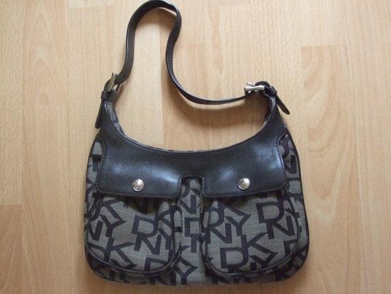 DKNY Brown Suede Hobo Handbag. Made In Italy. Never Used k4OKL1