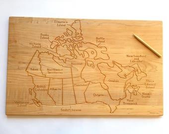 Canada Tracing Board -- Classical Conversations -- Montessori -- Waldorf -- Homeschool -- From Jennifer