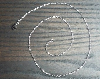 """3 Pack - 18"""" Oval Link Chain - Stainless Steel Oval Link Chain - Dainty Chain"""