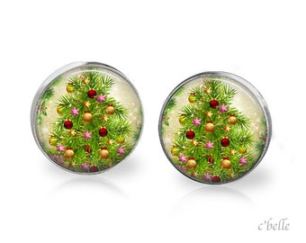 Christmas Earrings Winter-69