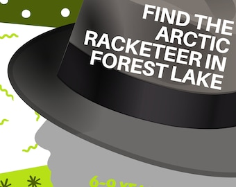 Mystery for Kids to Solve: Find the Arctic Racketeer in Forest Lake