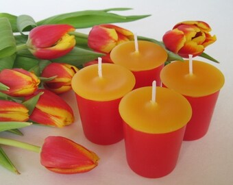 TULIPS (4 votives or 4-oz soy jar candle)