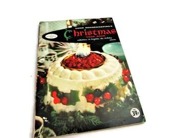 1950s Christmas Cookbook - Good Housekeeping 1958