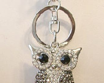 Owl Key Chain or Purse Decoration