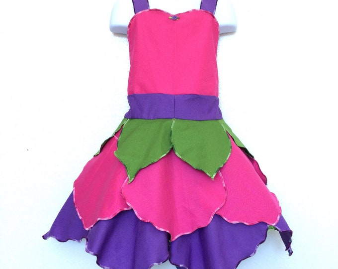 Pink and Purple Blossom Fairy Dress