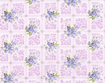 RJR Fabrics - Memento Lavender from Afternoon in the Attic collection by RJR Studio