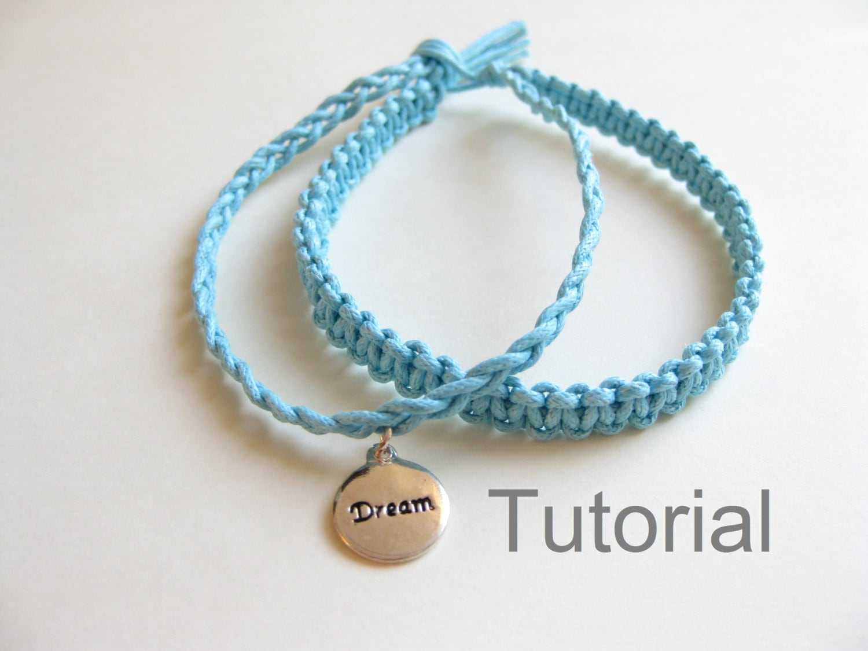 Knotted Bracelet Beginners Macrame on Make Easy Beaded Bracelets