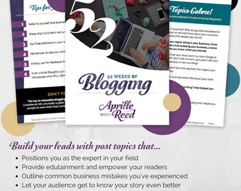 52 Blog Ideas to Nurture Your Email List