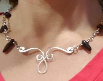Fossil Necklace Handmade Genuine