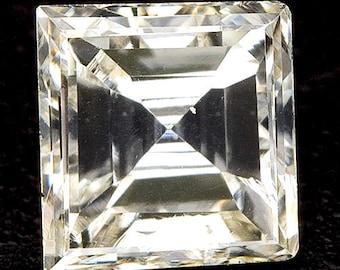 See Video - 0.21ctw 3.5x3.4mm M VS2 Loose Natural White Diamond Square Shape Carre Carrè