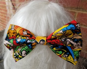 Justice League Hair Bow