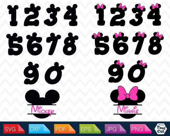 mickey mouse numbers