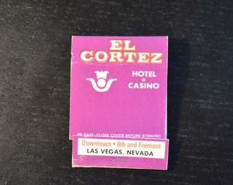 El Cortez Hotel and Casino Las Vegas, NV Matchbook