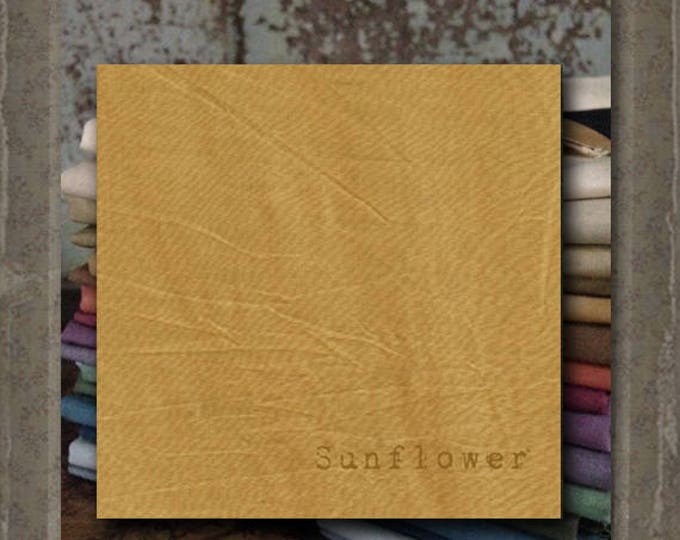 Fabric 1 YARD: Over-dyed Aged Muslin Cloth (New) - Sunflower NEW! Color 0132 Marcus Fabrics