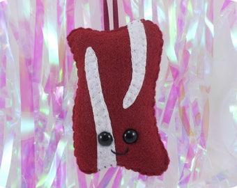 Bacon Plush Ornament