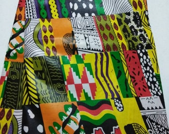 Quality patchwork wax print African Fabric Per Yard/ Machine patchwork African print fabric