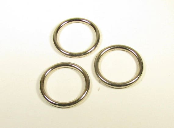 2 1/2 inch O-rings Nickel Welded/ 2.5 O ring