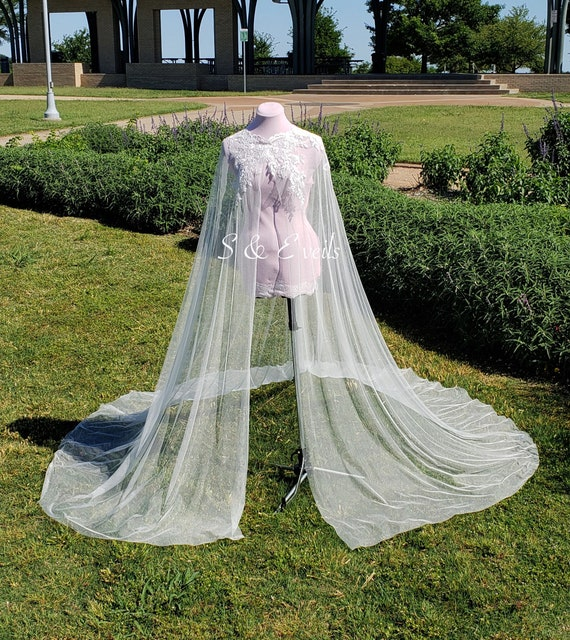 Wedding Cape Veil
