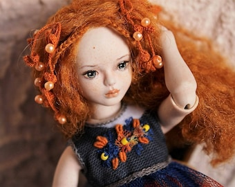 Carina. Porcelain BJD art doll by Julia Arts