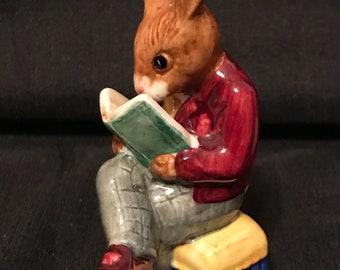 Vintage Bunnikins Royal Doulton Grandpa's Story Peter Rabbit Beatrix Potter SALE PRICE was 40.00 now 30.00