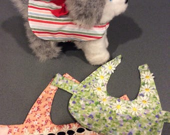 Dog clothes one set of 3